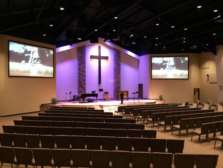 Redeemer Church Leans On Ashly Ashly Audio