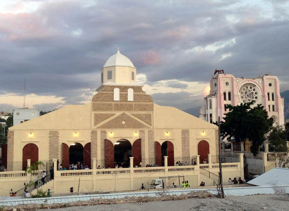 Haiti S New Cathedral On The Road To Recovery Ashly Audio