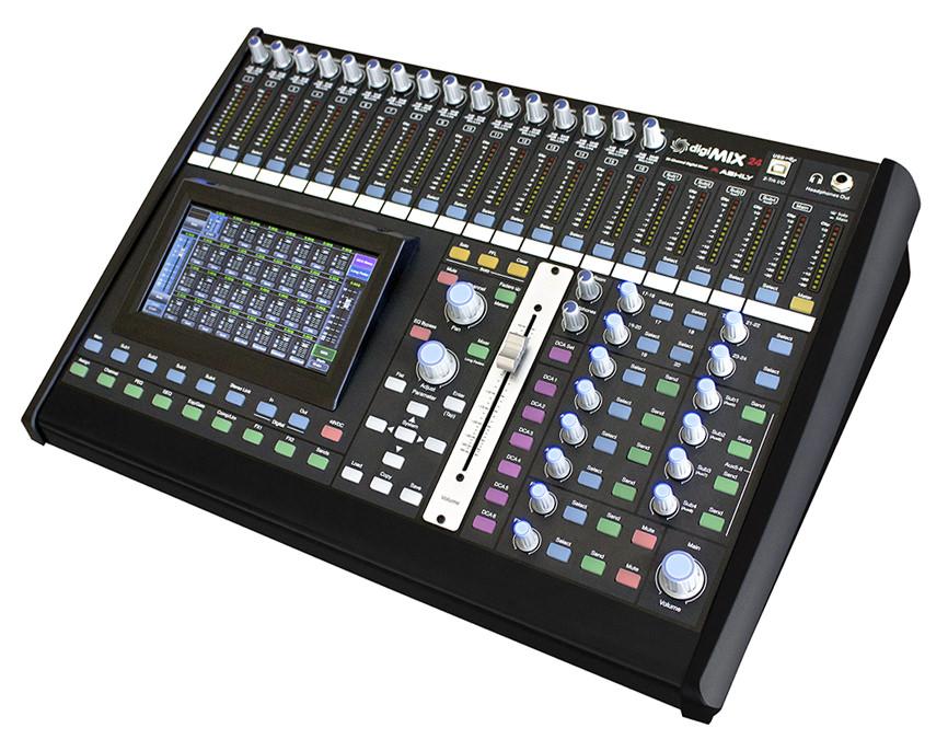 digimix24 digital mixer ashly audio. Black Bedroom Furniture Sets. Home Design Ideas