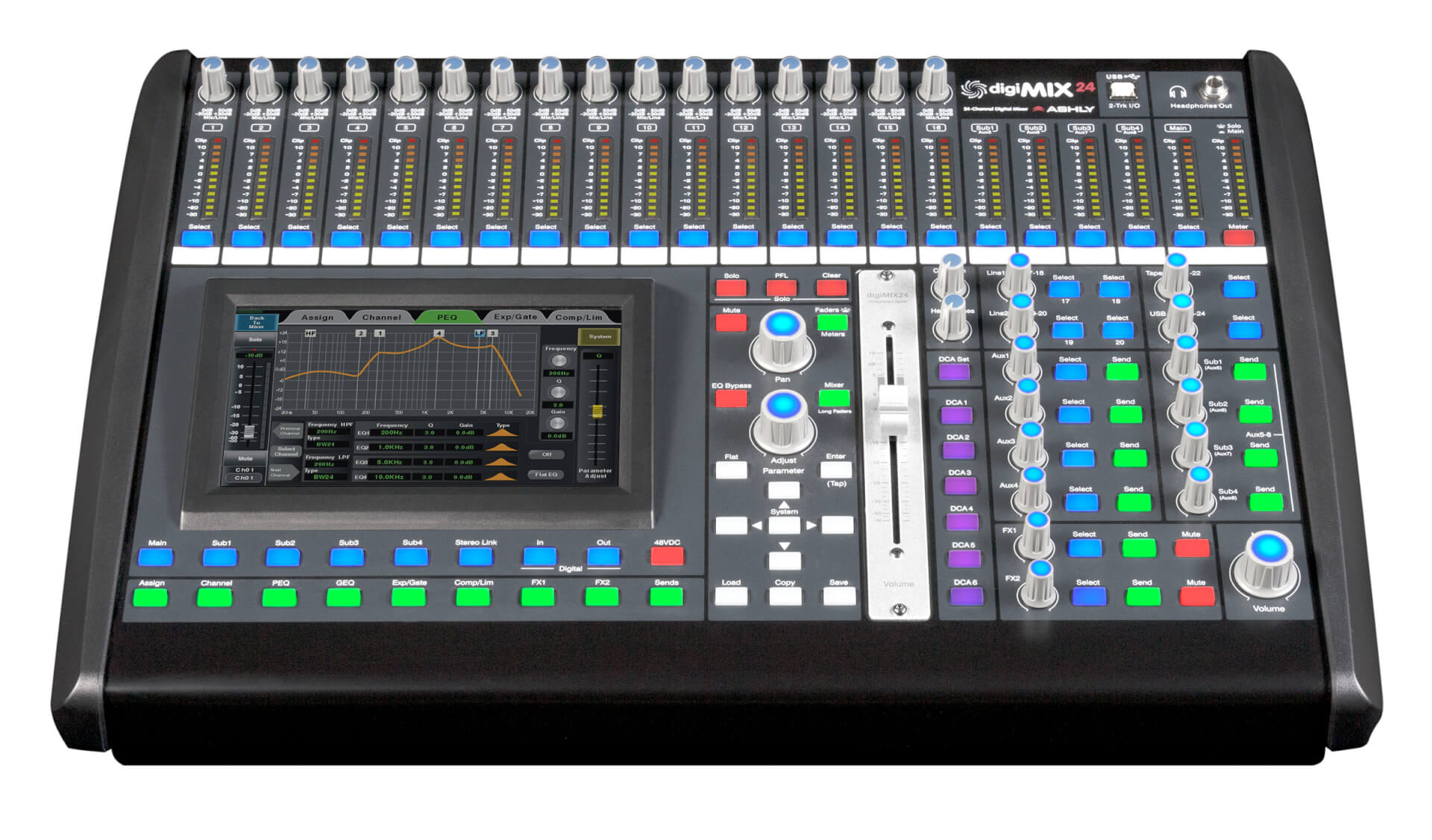 digimix digital mixers ashly audio. Black Bedroom Furniture Sets. Home Design Ideas