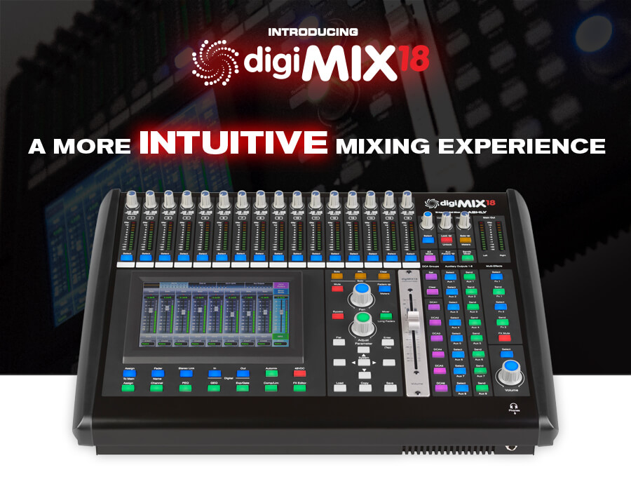 Ashly New Digimix18 Banner