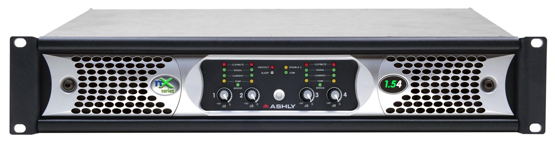 Listed By Alpha Numeric Ashly Audio 1500 Watt High Power Amplifier Nx 152 2 X 1500w Data Sheet Manual Front