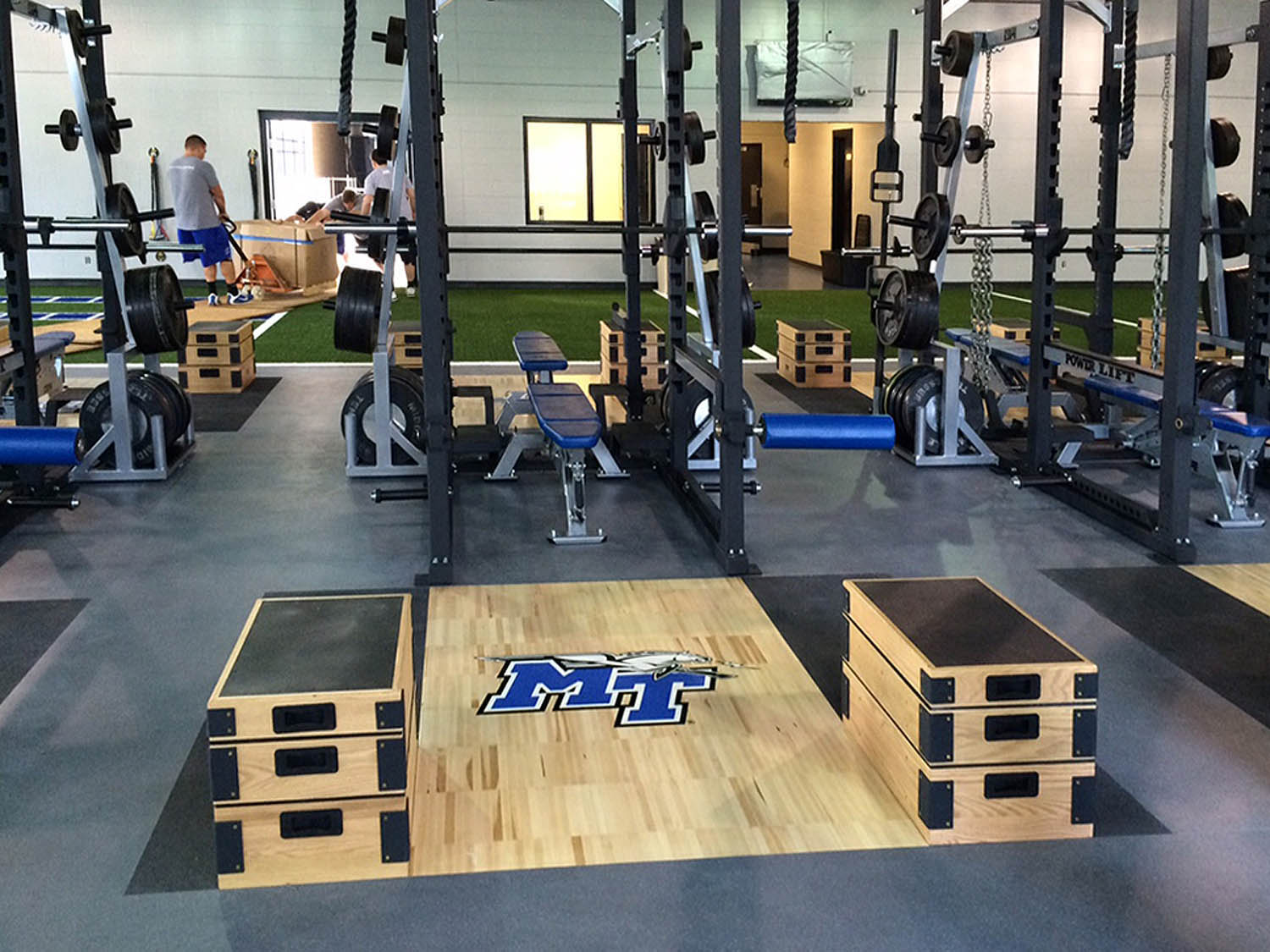 Switching Out For Ashly Gear Improves Mtsu S Athletics