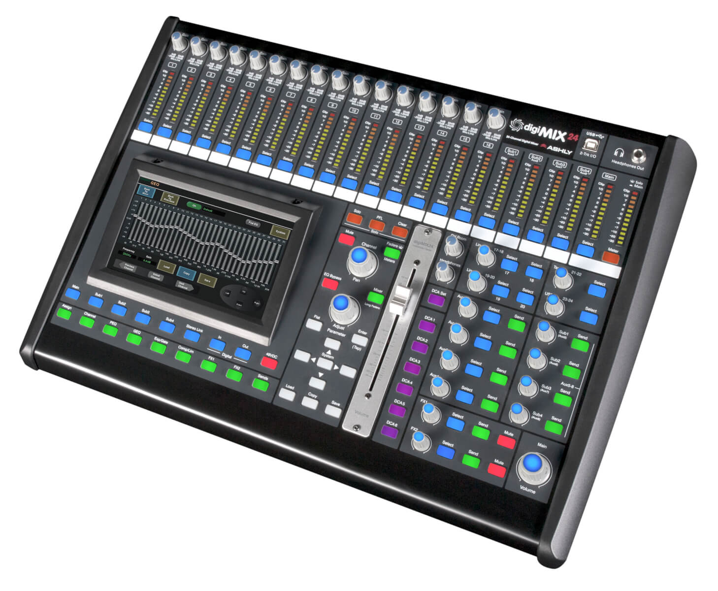 ROAD TEST: George Peterson of FOH Magazine reviews digiMIX24 | Ashly